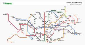 Tu estación de metro te dice cuánto debes ganar para pagar tu casa