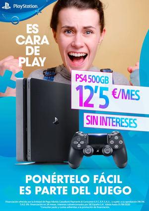 Ponértelo fácil es parte del juego, hazte con tu PS4 en 24 meses sin intereses