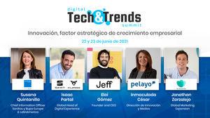 Sanitas, SEAT, Pelayo, Too Good To Go, Idealista y otras marcas líderes compartirán en Digital Tech & Trends Summit 2021 las tendencias y claves de innovación como factor estratégico del crecimiento empresarial