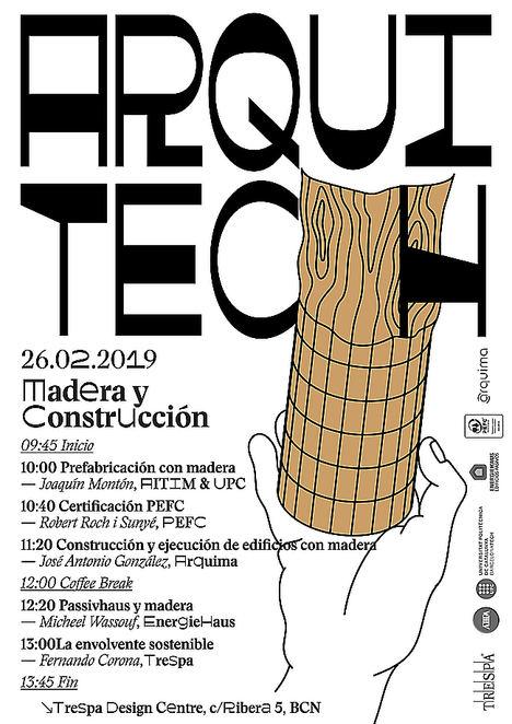 ARQUIMA participa en ArquiTech, el ciclo de Jornadas Técnicas organizado por Trespa