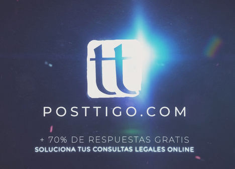 Posttigo.com, la web que crece exponencialmente solucionando consultas legales sin tener que salir de casa