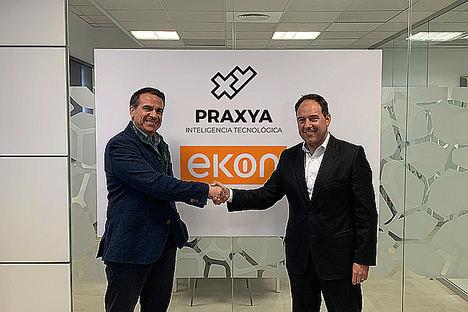 ekon refuerza su presencia en Levante con la incorporación como partner de la consultora tecnológica PRAXYA