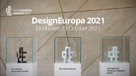André Ricard, ganador del Premio a la trayectoria profesional en los Premios DesignEuropa