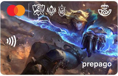 La solución de prepago móvil Correos League Of Legends de PFS está disponible en España