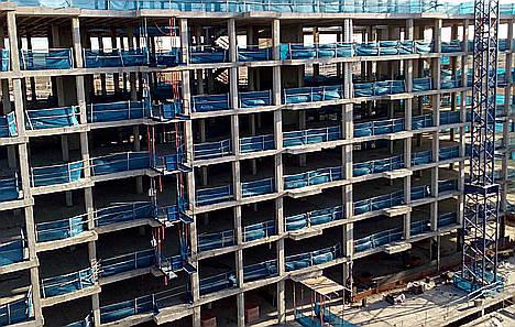 Avintia construcción, más de tres puntos y medio por debajo de la siniestralidad media del sector