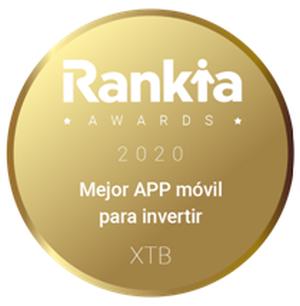 Los VI Premios Rankia eligen a XTB mejor aplicación móvil para invertir