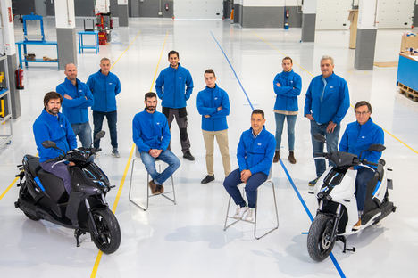 Equipo Ray Electric Motors.