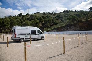 El pueblo malagueño de Canillas de Albaida estrena Área de Autocaravana para atraer turismo itinerante