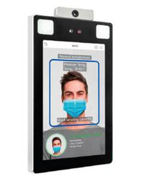 Nueva solución de reconocimiento facial capaz de identificar al empleado aunque use mascarilla