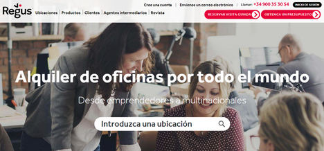 Regus amplía su apuesta por el trabajo flexible en Valencia