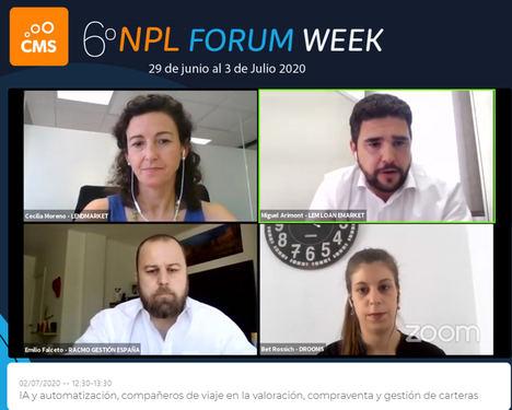 """Miguel Arimont Lincoln: """"Estamos ante una revolución tecnológica en torno a carteras y gestión de inversiones de deuda (NPLs)"""""""