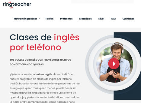 El método ringteacher: la solución para aprender inglés en el ámbito rural