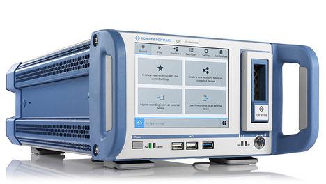 Registrador de datos I/Q de banda ancha R&S IQW100 facilita los tests de campo en el laboratorio con instrumentos de gama media