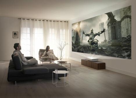 Samsung presenta The Premiere, su proyector láser 4K de tiro ultracorto
