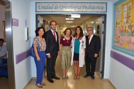 Banco Santander respalda en Andalucía las actividades de Andex, en apoyo a las familias con niños con cáncer