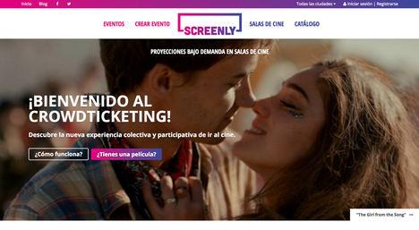 La plataforma Screenly reúne más de 113.000 euros para consolidar el cine bajo demanda en salas