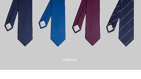 Sepiia reinventa la corbata