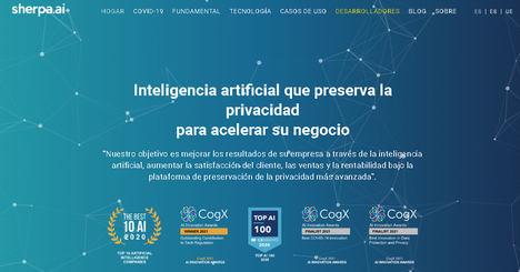 Sherpa.ai compartirá su visión sobre la Inteligencia Artificial aplicada a la privacidad de datos con los más destacados representantes de la Industria Digital y las Administraciones
