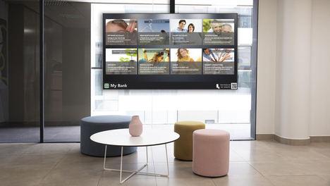La tecnología Showcases de Movilok facilita la interacción virtual de los clientes de los bancos