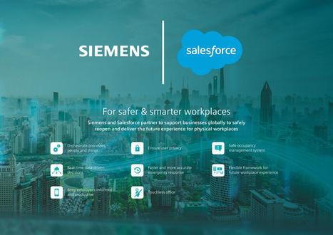 Siemens y Salesforce se asocian para mejorar la seguridad en el puesto del trabajo