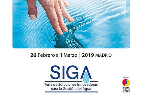 """SIGA 2019 acogerá la Jornada """"Financiación nacional e internacional de la I+D+i del agua"""""""