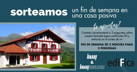 Knauf y Knauf Insulation celebran el tercer aniversario de su fachada ligera passivhaus en Edifica 2021