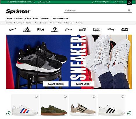 Sprinter se convierte en marketplace deportivo