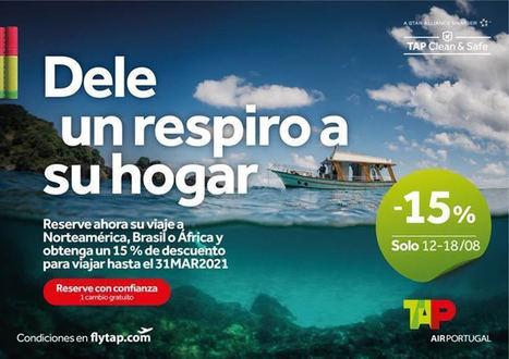 Tap vuelve a despegar en Bilbao en octubre y ofrecerá más destinos de larga distancia