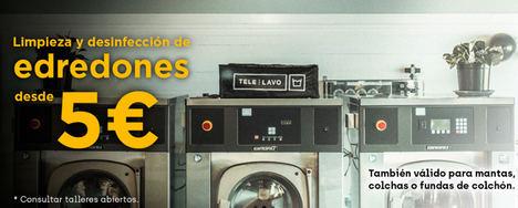 Telelavo pone a disposición de personal de supermercados y policías su servicio de lavandería artesanal de forma gratuita