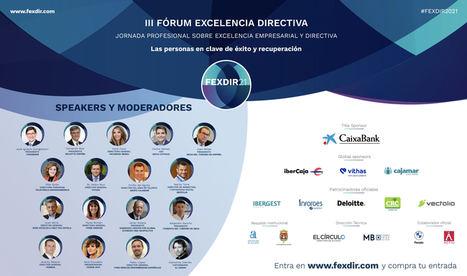 Javier Solana, Juan Serra, Clemente Cebrián, Jeremy Palacio y Alejandro Sancho participan en la tercera edición de FEXDIR