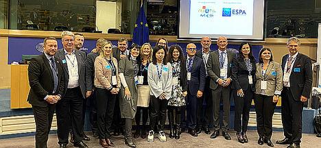 Termatalia, EHTTA y Ourense participan en la Conferencia de la Industria del Turismo de Salud en el Parlamento Europeo