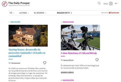 Thedailyprosper, información variada, útil y personalizada