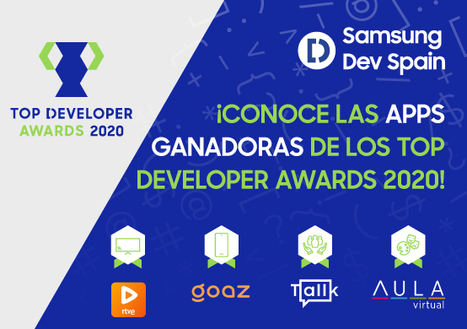 Entregados los premios Top Developer Awards 2020 de Samsung Dev Spain