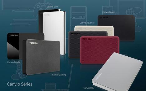Toshiba lanza una nueva línea Canvio de almacenamiento portátil con nuevas aplicaciones y diseños