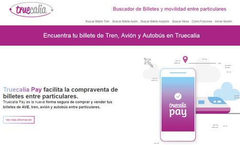 Truecalia lanza Truecalia Pay, servicio de pago de billetes de transporte entre particulares