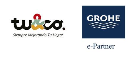 Tuandco se convierte en e-partner de la marca alemana de productos para el baño y cocina Grohe