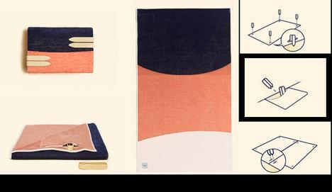 Tucca renueva el concepto de toalla de playa