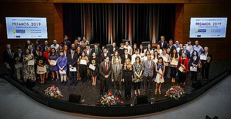 La Universidad Carlos III de Madrid, el Santander y Airbus premian la excelencia y el emprendimiento