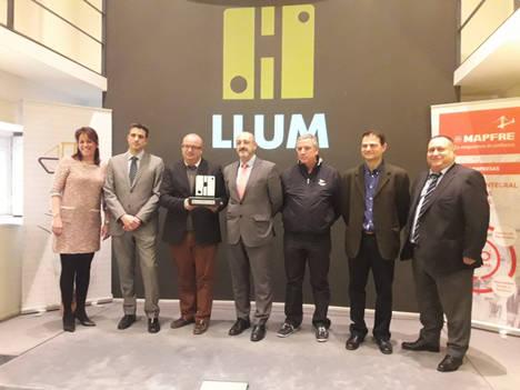 umivale acompaña al Real Club Náutico de Valencia en los Premios Llum