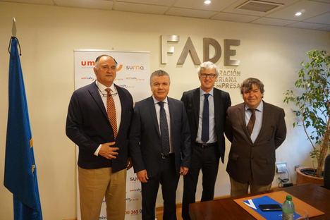 Umivale colaborará con FADE en favor de las empresas asturianas