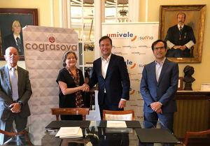 Umivale firma un convenio de colaboración con el Colegio Oficial de Graduados sociales de Valencia (COGRASOVA)