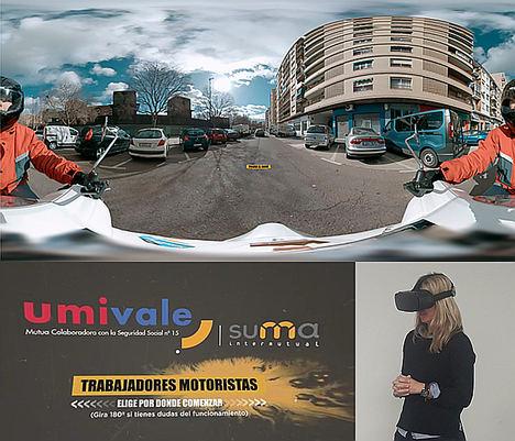 La realidad virtual, clave para prevenir accidentes laborales de tráfico en motocicleta