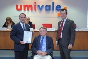 umivale recibe el sello Bequal que acredita su política de inclusión de las personas con diversidad funcional
