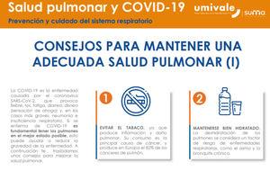 ¿Puede una adecuada salud pulmonar reducir el riesgo de padecer COVID-19?