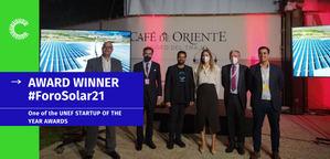 La Cámara felicita a Clever Solar Devices, la empresa surgida del Semillero de Proyectos que ha logrado el premio a la startup del año del Foro Solar 21