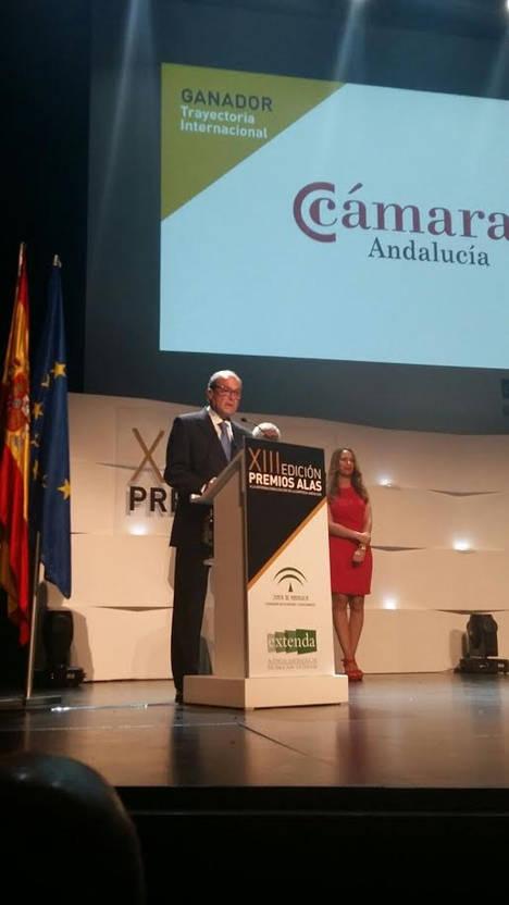 Las Cámaras de Andalucía reciben el premio ALAS a la trayectoria empresarial