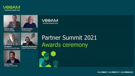 Veeam reconoce a los ganadores de los premios ProPartner 2020 en España y Portugal