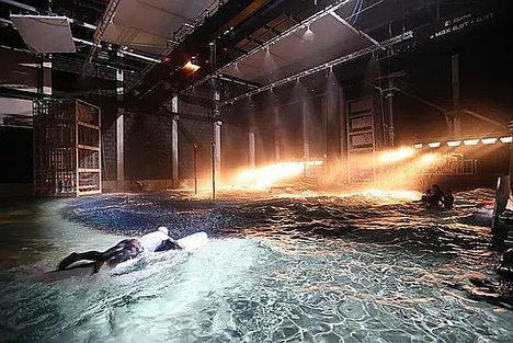 Verlinde equipa el primer plató sumergido del mundo en los estudios cinematográficos belgas Lites