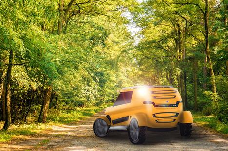 Virante, el coche eléctrico de Tecnovelero, también se impulsará con hidrógeno