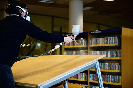 Las Rozas Innova firma un convenio con Umbrella Technologies, la aplicación del primer producto anti Covid en la Biblioteca Municipal León Tolstoi